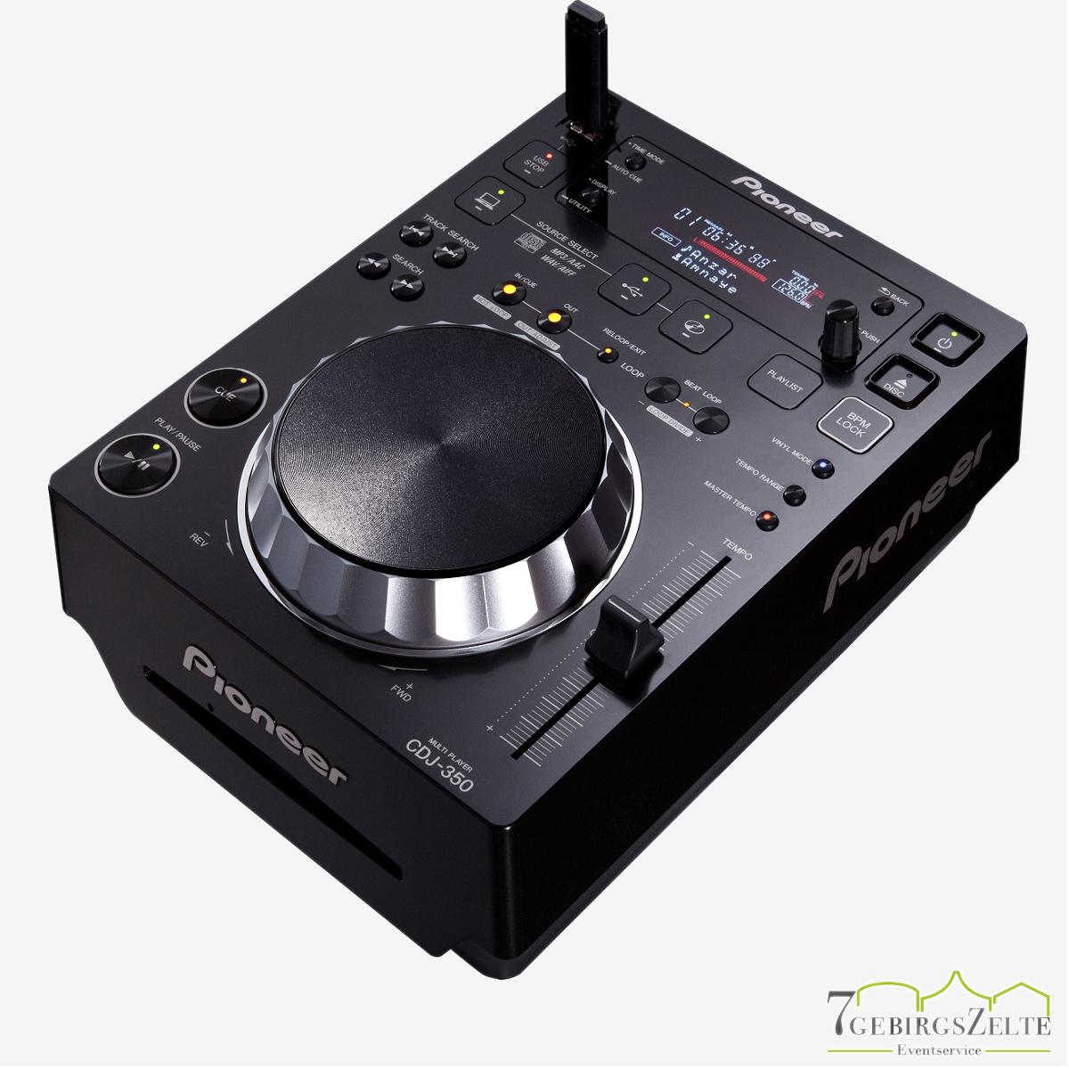Pioneer Multiplayer CDJ-350