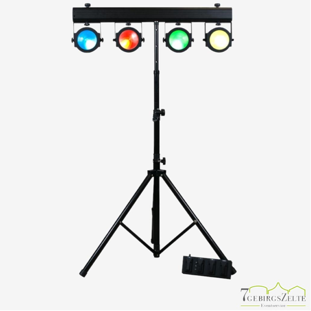 LED- 4er Lichtanlagenset All-in-one