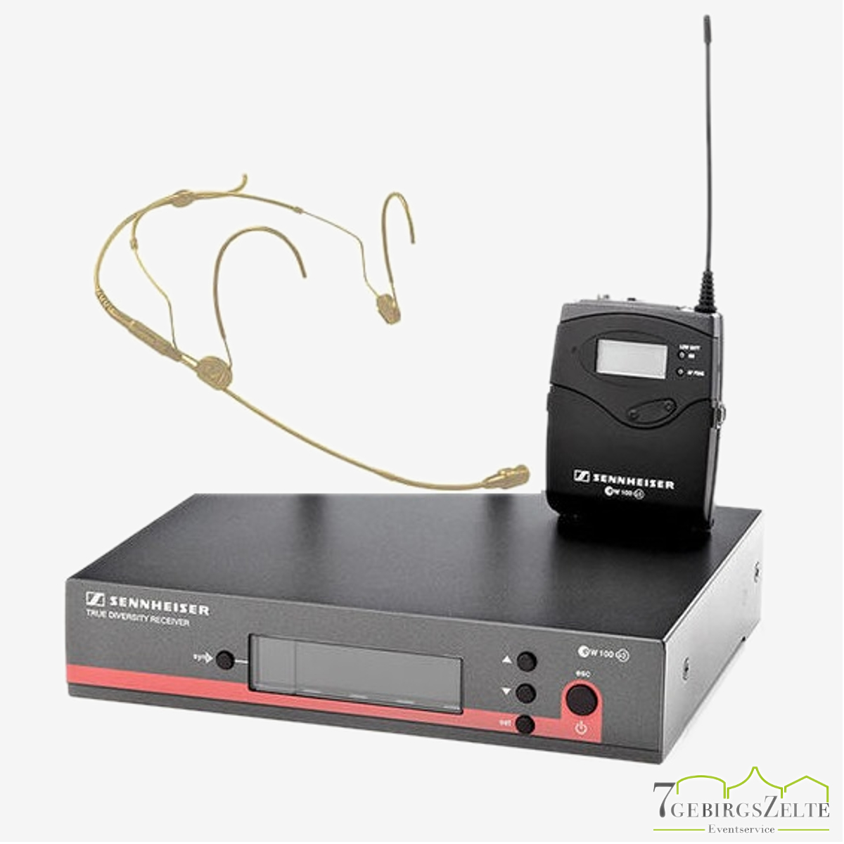 Funkmikrofon Sennheiser EW-152 inkl. Heatset/ Kopfmikrofon