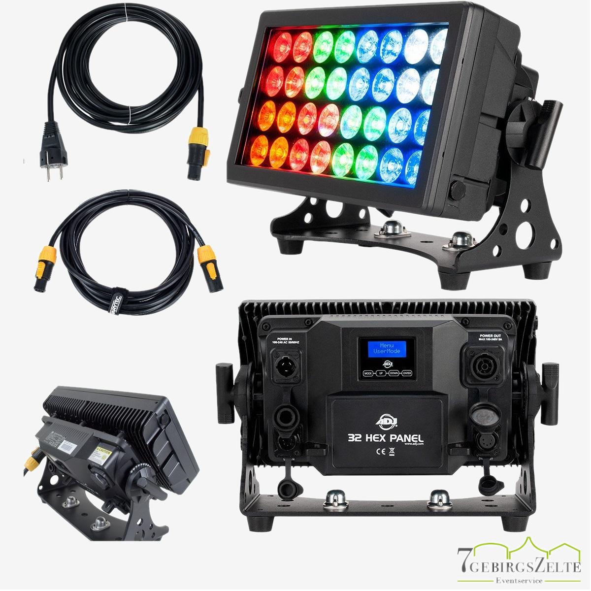 LED-Hochleistung-Fluter Washer RGBWA-UV