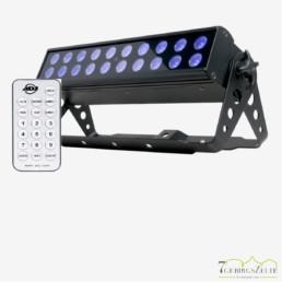 Schwarzlichtleiste-UV-LED-Fluter ADJ 20x1Watt