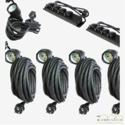 Kabelset 230 Volt IP44