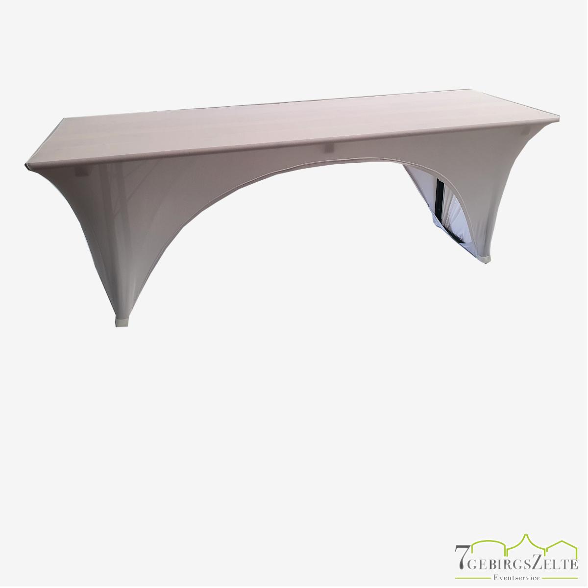 Bierzelttisch Stretchhusse 50 cm, weiß