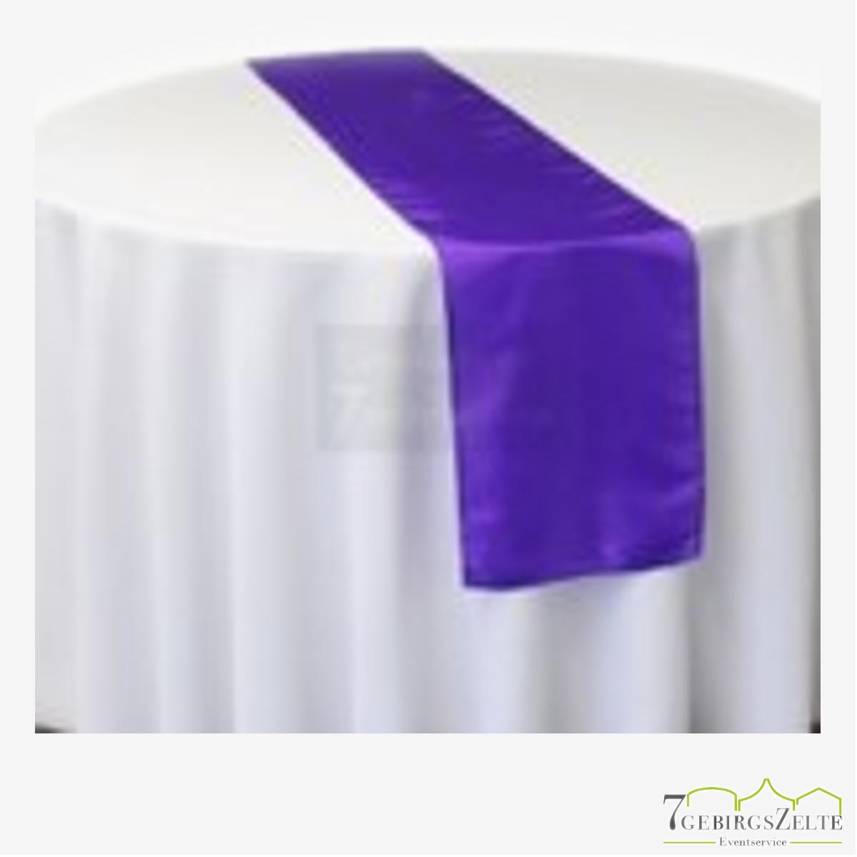 Tischläufer Taft B 27,5 x T 220cm, lila