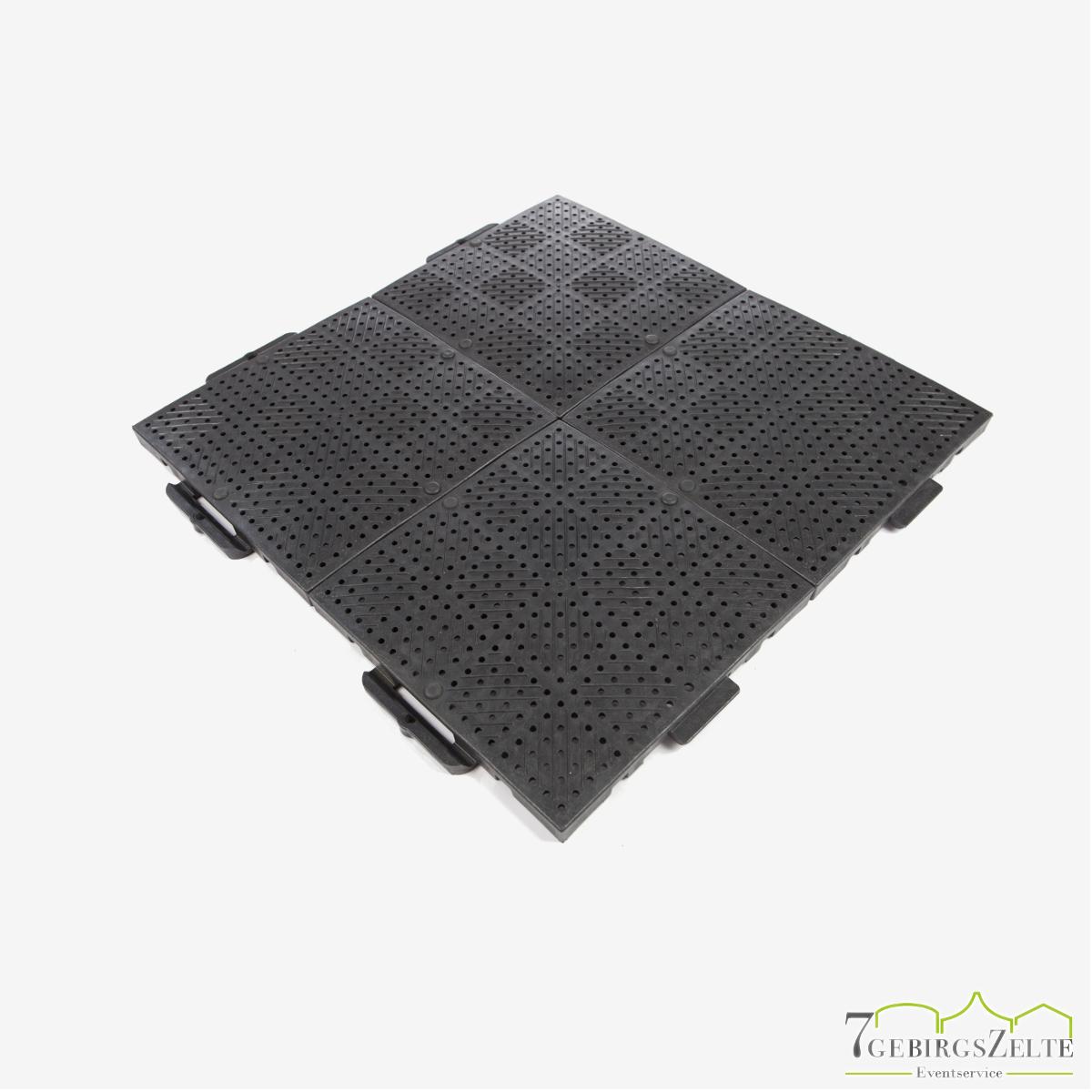 TERRAGUIDE®-Bodenschutzplatte 0,25 m² schwarz