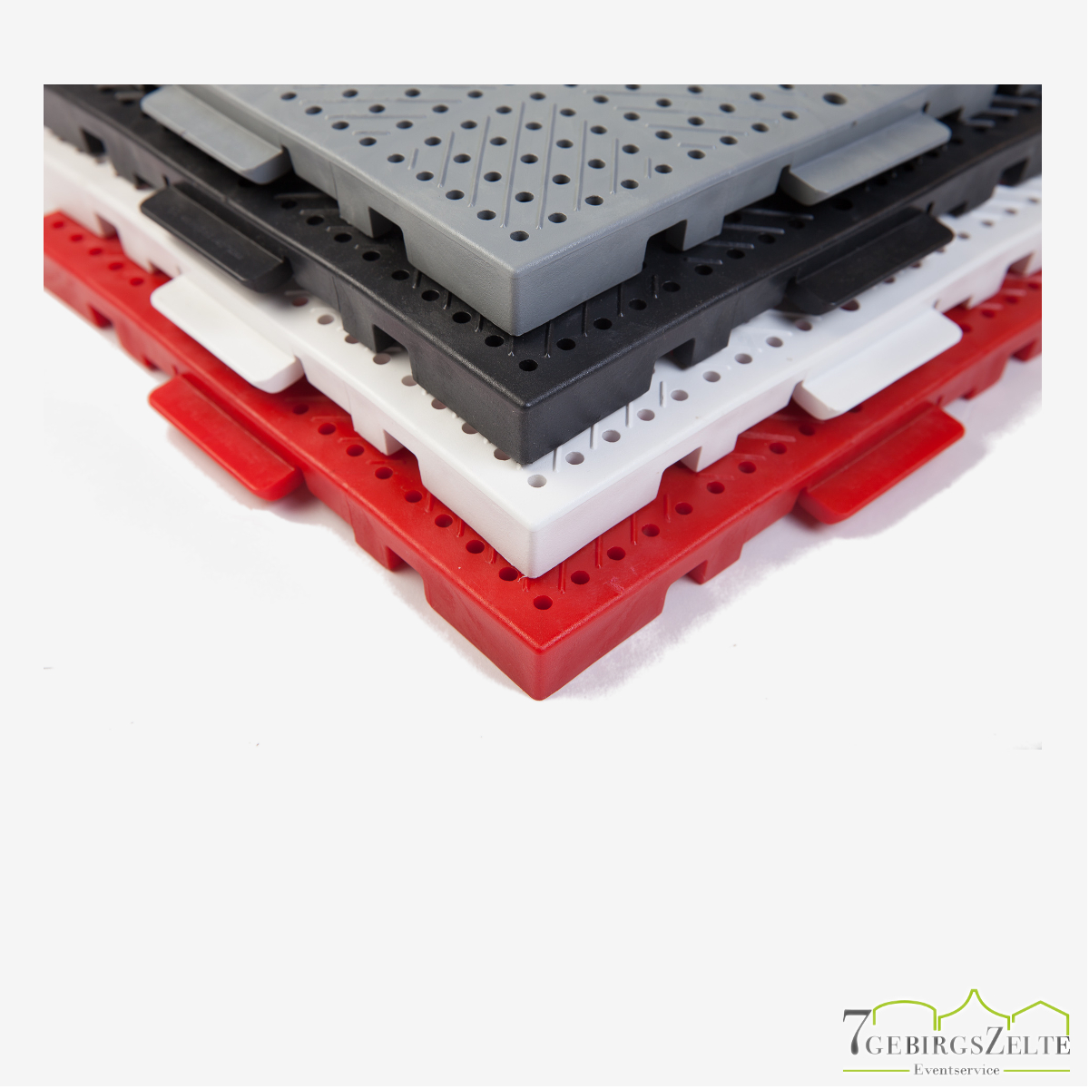 TERRAGUIDE®-Bodenschutzplatte 0,25 m² bunt