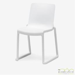 Kasar Stuhl weiß  polyprop