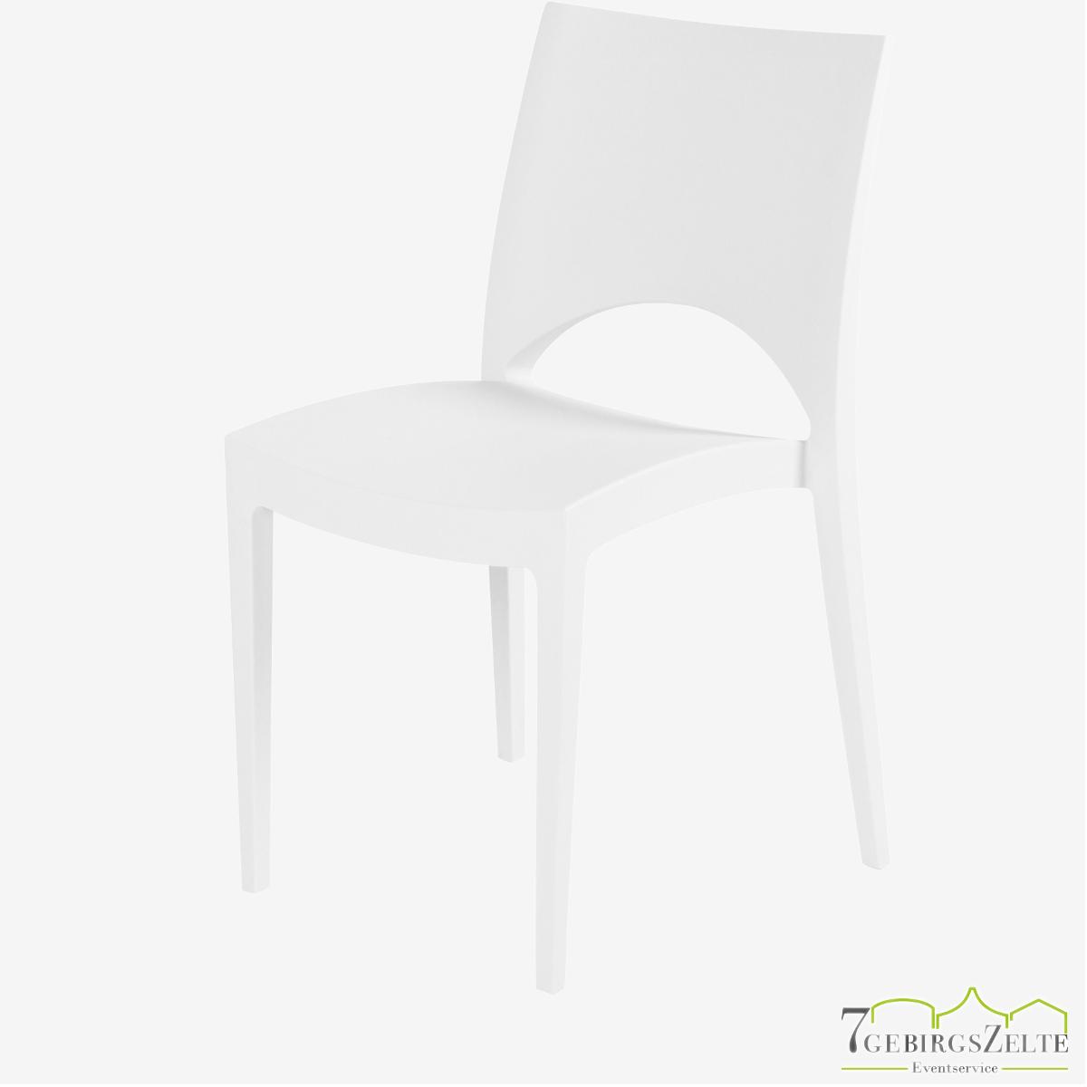Stack chair  polypropylene  June weiß