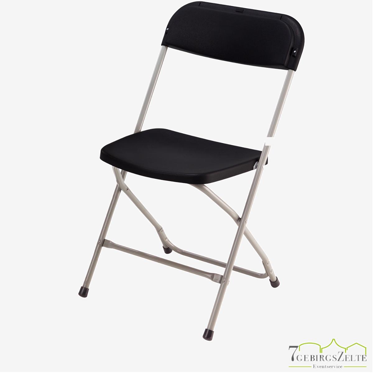 Folding chairs Box of 12 Europa schwarz/schwarz