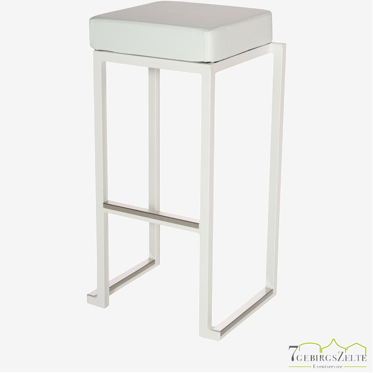 Kubo Smart stool 35x35x79cm alu Gestell: Farbe variabel; Sitz: variabel
