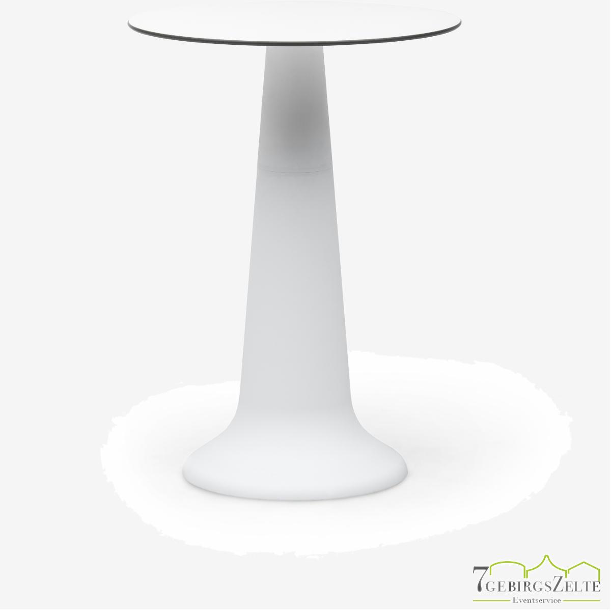 Table Vase Party weiß 110cm  - D80