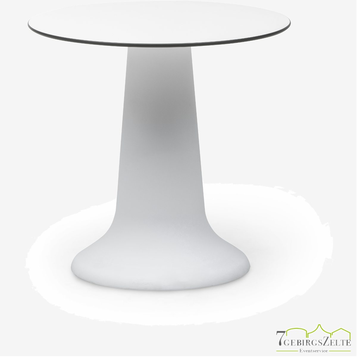 Tabe Vase Dinner weiß 75cm -  D80